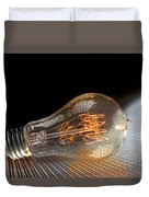Electricentric Duvet Cover