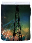 Electricity Duvet Cover