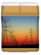 Electrodusk Duvet Cover