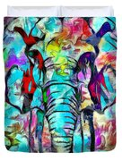 Elefante Duvet Cover