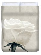 Elegance In White Duvet Cover by Wim Lanclus