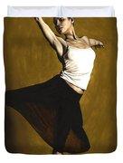 Elegant Dancer Duvet Cover