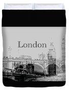 Elegant London Duvet Cover