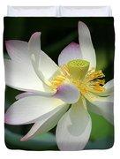 Elegant Lotus Duvet Cover
