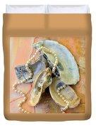 Elegant Treasures From The Sea Duvet Cover
