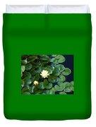 Elegant Water Lily Duvet Cover