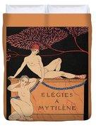 Elegies A Mytilene Duvet Cover