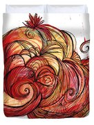 Elements Of Fire Duvet Cover