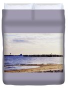 Elements On The Coast Duvet Cover