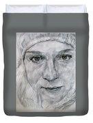 Unknown, Portrait Duvet Cover
