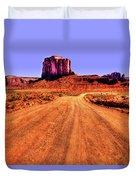 Elephant Butte Monument Valley Navajo Tribal Park Duvet Cover