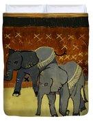 Elephant Calves Duvet Cover