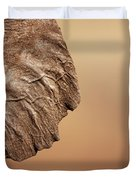 Elephant Ear Close-up Duvet Cover