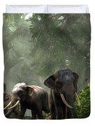 Elephant Kingdom Duvet Cover
