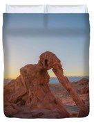 Elephant Rock Sunrise  Duvet Cover
