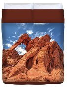 Elephant Rock, Valley Of Fire State Park, Nevada Duvet Cover