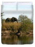 Elephant Sighting Duvet Cover