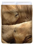 Elephants Duvet Cover