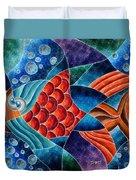 Eletric Fish Duvet Cover