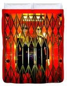 Elevator Elegance Duvet Cover