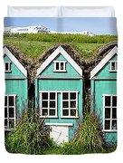 Elf Houses Duvet Cover