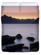 Elgol Red Sunset Duvet Cover