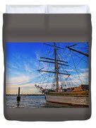 Elissa Sailing Ship Duvet Cover
