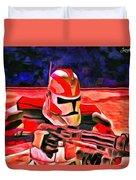 Elite Trooper - Da Duvet Cover