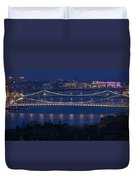 Elizabeth And Liberty Bridges Budapest Duvet Cover