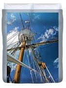Elizabeth II Mast Rigging Duvet Cover