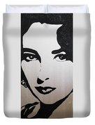 Elizabeth Taylor Diams Duvet Cover