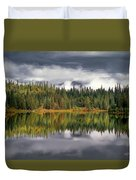 Elk Lake Duvet Cover