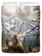 Elk Ridge Duvet Cover