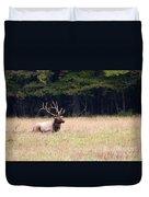 Elk Sitting Down Duvet Cover
