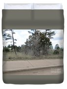 Show Low Landscape Duvet Cover