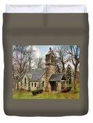 Elkhart Illinois Chapel Duvet Cover