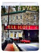 Ellicott City Duvet Cover