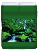 Elowah Falls 3 Columbia River Gorge National Scenic Area Oregon Duvet Cover