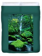 Elowah Falls 4 Columbia River Gorge National Scenic Area Oregon Duvet Cover