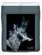 Elusive Visions Antelope Buck Duvet Cover