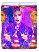 Elvis Presley Jail House Rock 20160520 Horizontal Duvet Cover