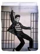 Elvis Presley Jailhouse Rock Duvet Cover