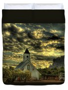 Elvis Presley Memorial Chapel II  Duvet Cover