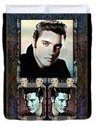Elvis Presley Montage Duvet Cover