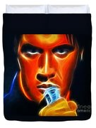 Elvis Presley Duvet Cover by Pamela Johnson