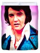 Elvis Presley The King 20160117 Duvet Cover