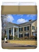 Elvis Presley's Graceland Duvet Cover