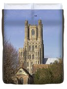 Ely Cathedral West Tower Duvet Cover