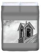 Ely Vermont Barn 1899 Barn Cupola Duvet Cover