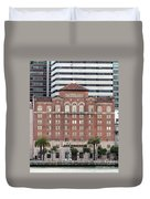 Embarcadero Ymca Building In San Francisco, California Duvet Cover